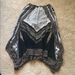 Free People women's flowy skirt size XS